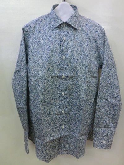 画像1: Jipijapa/リバティープリントシャツ